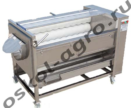 Машина для очистки картофеля, моркови, свеклы, лука и т.д. от кожуры