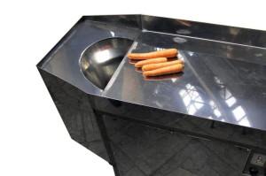 Машина для резки моркови по-корейски КР-500-2