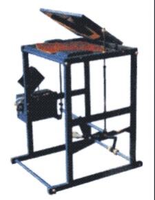 Установка для изготовления изделий из полимерных пленок при помощи криволинейных швов