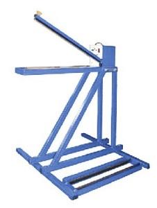Установка для запайки последнего шва на полиэтиленовых мешках над конвейером
