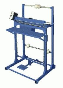 Напольные установки для сварки полимерных пленок серии ШОВ с двухсторонним нагревом