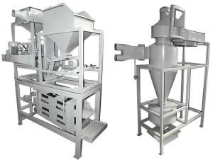 Пневмосепаратор ореха и ядра кедрового ореха П-0.1