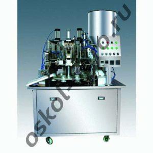 Автоматическая машина для дозирования в пластиковые тубы и последующей запайки МАД-30
