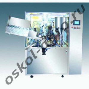 Автоматический аппарат для фасовки и упаковки в пластиковые тубы МАД-50