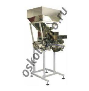 Дозатор ДД-10/30/50 А-СПК для дозирования сыпучих продуктов с весоизмерительный ковшом