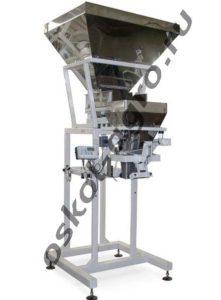 Дозатор ДД-10/30/50 А-СПП с пневмозажимом для фасовки в мешки сыпучих продуктов и материалов