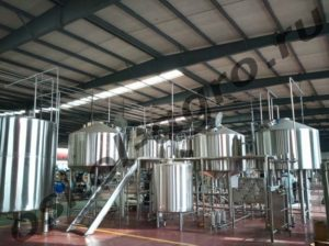 Мини пивоварня 3000L