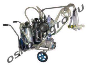 Переносный доильный аппарат ПД-25