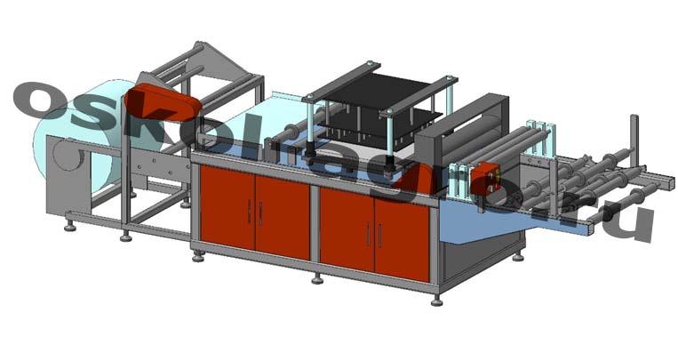 Оборудование для производства одноразовой одежды ПО-80